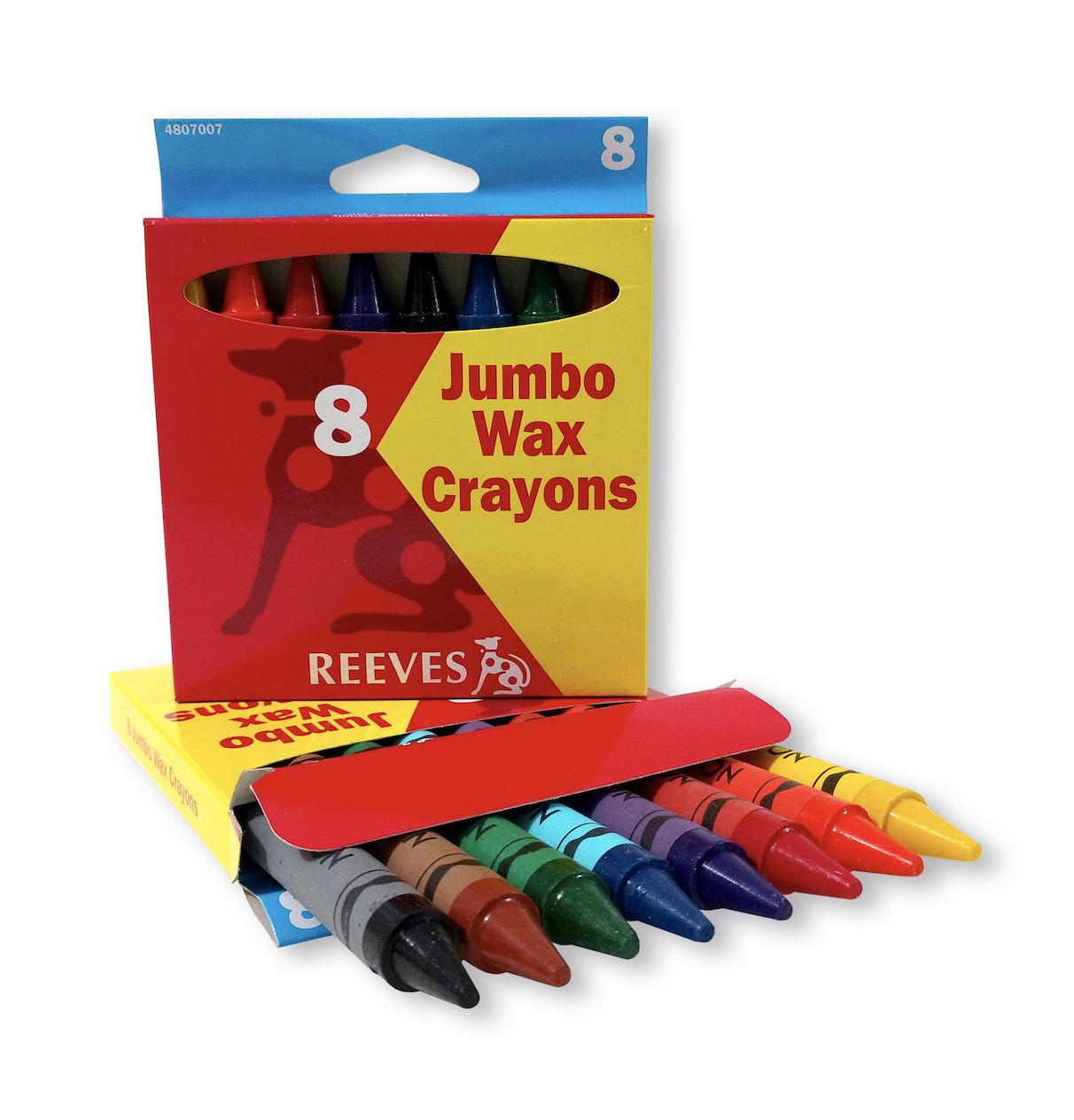 Crayones Jumbo Reeves