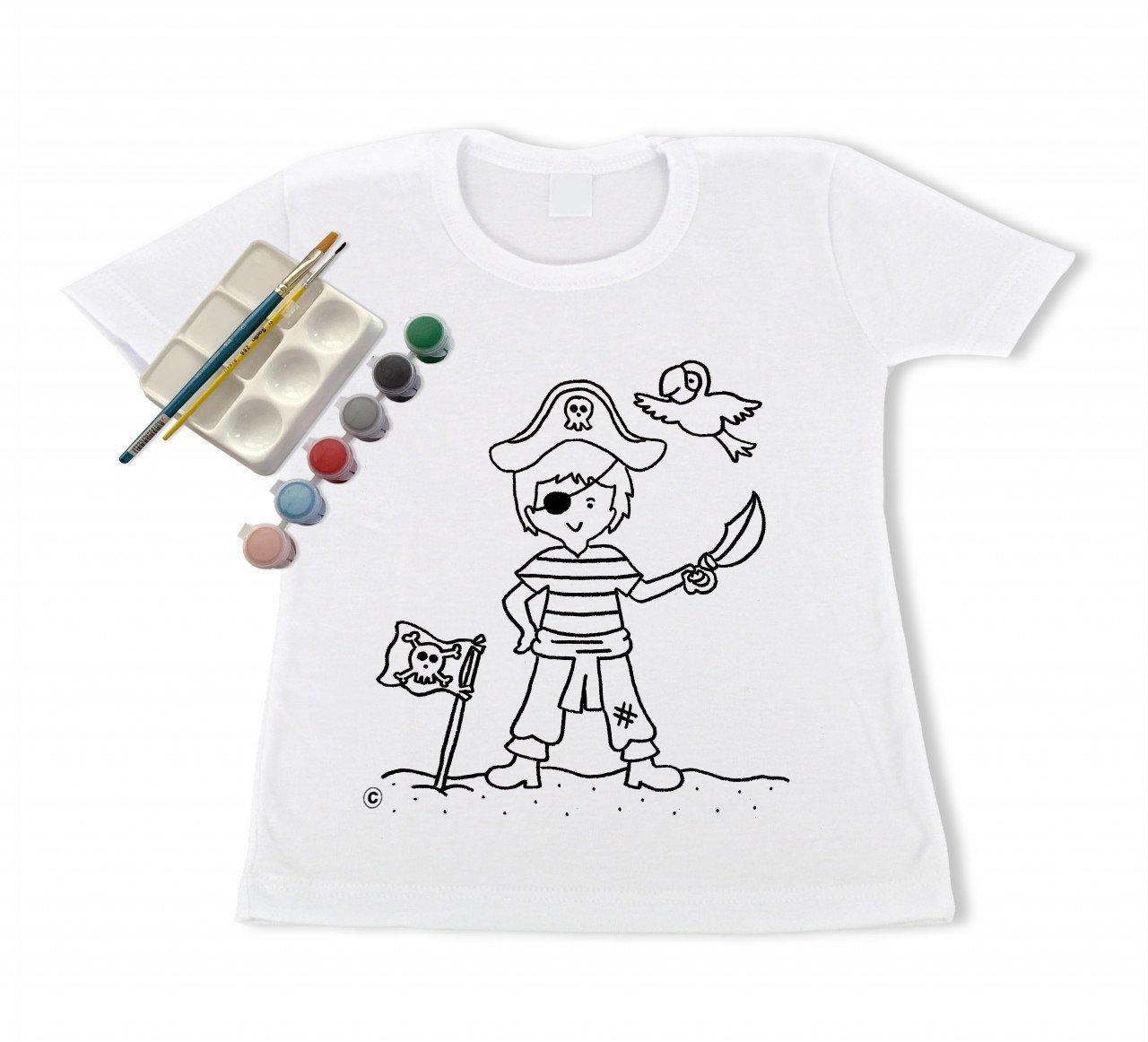 Camiseta para el Pequeño Pintor