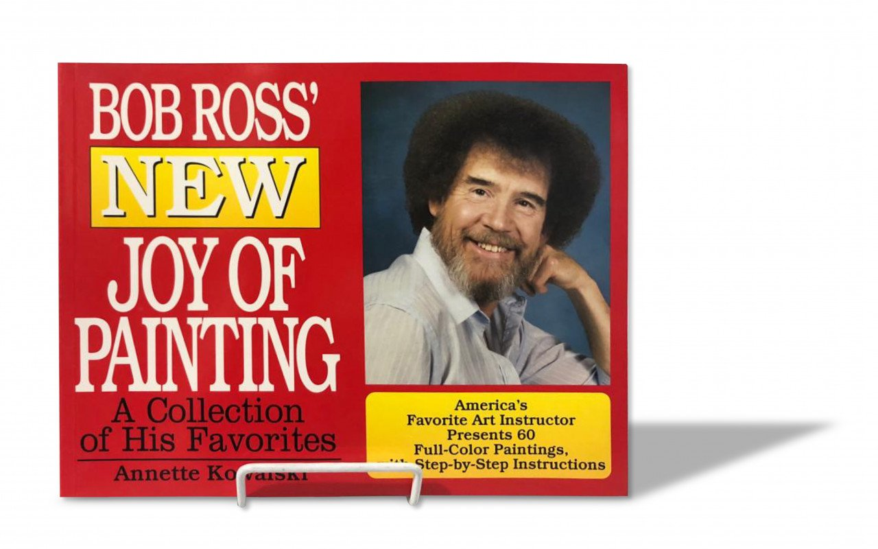 Libro Bob Ross New Joy of Painting (Inglés)