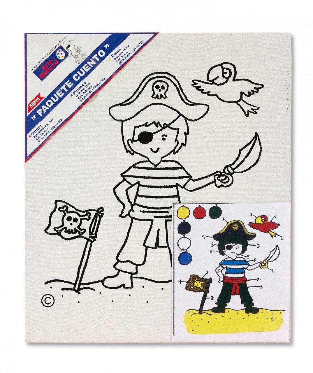 Paquete Cuento Pirata