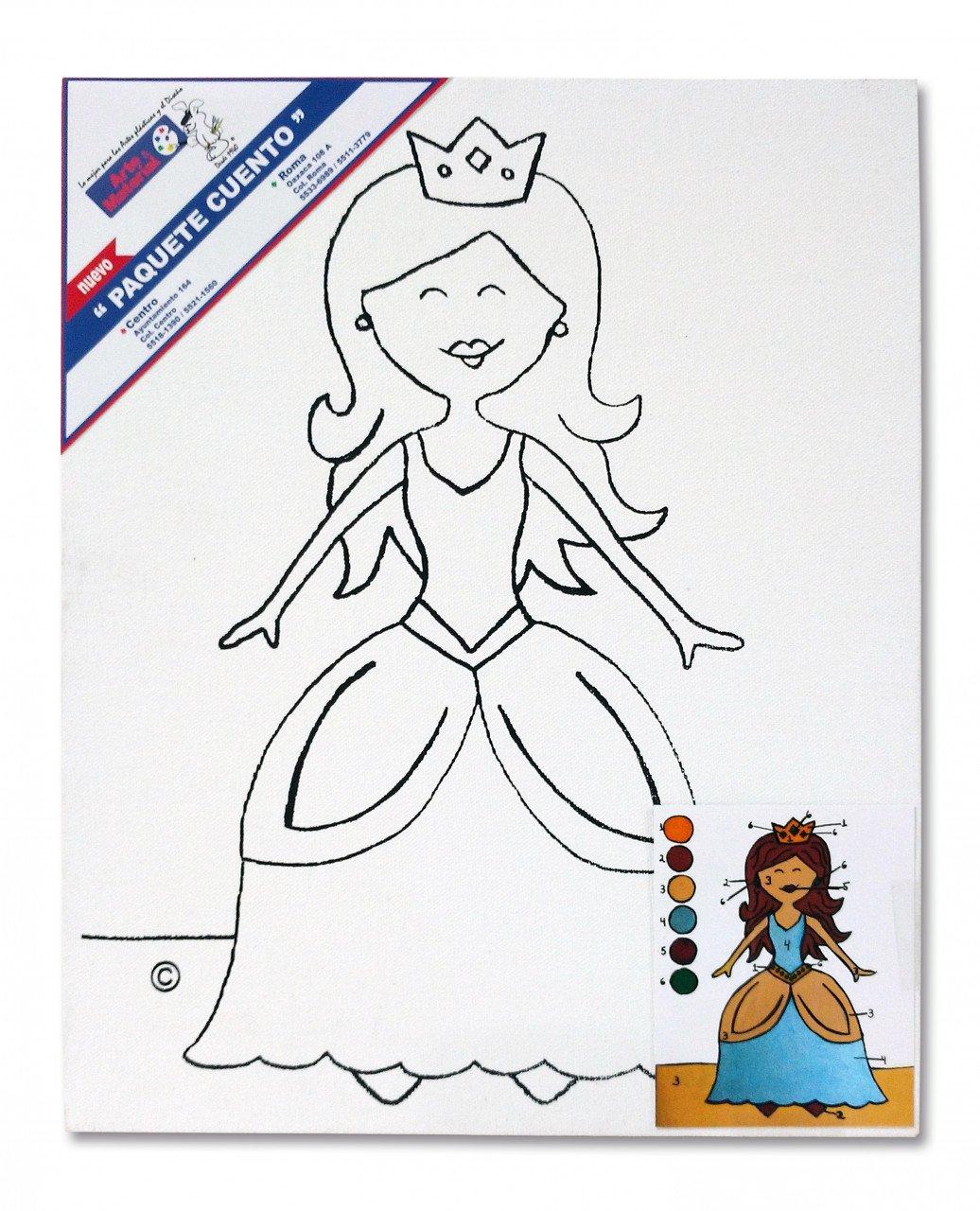 Paquete Cuento Princesa