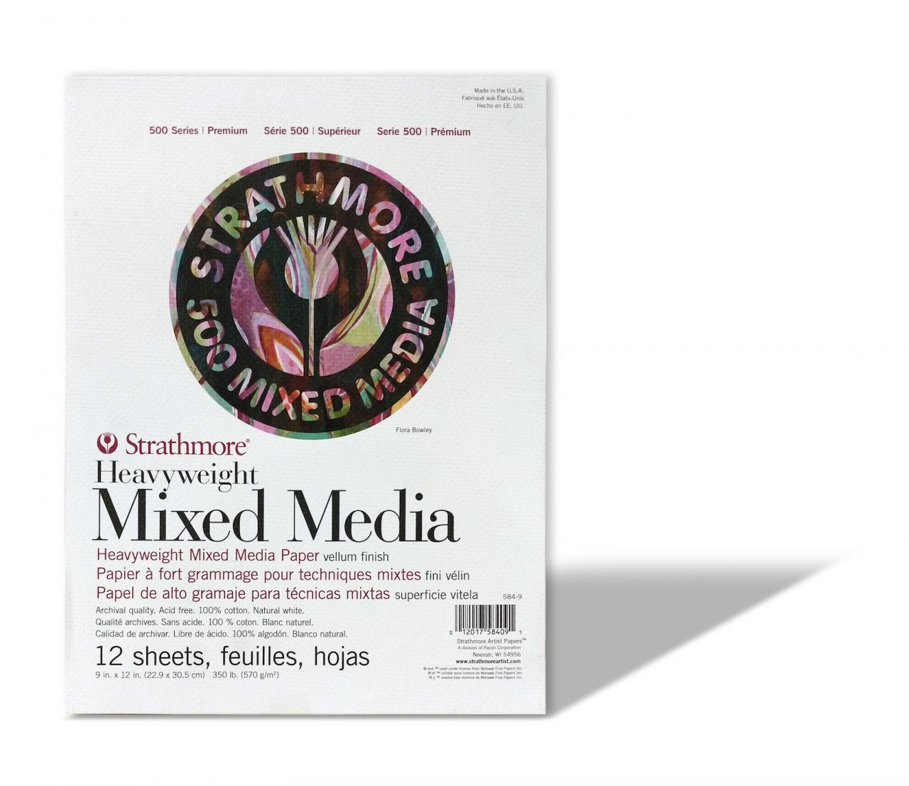Block Strathmore 584-9 Mixed Media