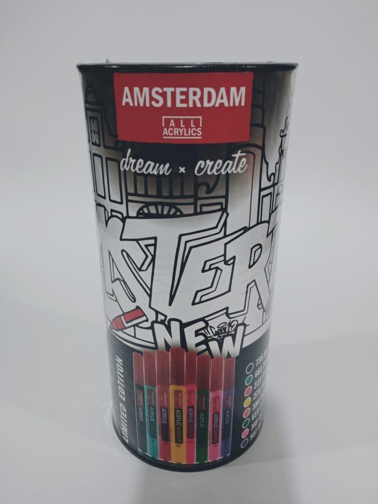 Set de Marcadores Acrílicos Amsterdam