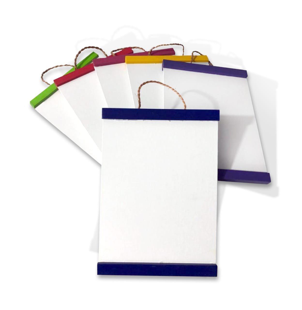 Bastidor de Cartón con Tela para Pequeño Pintor