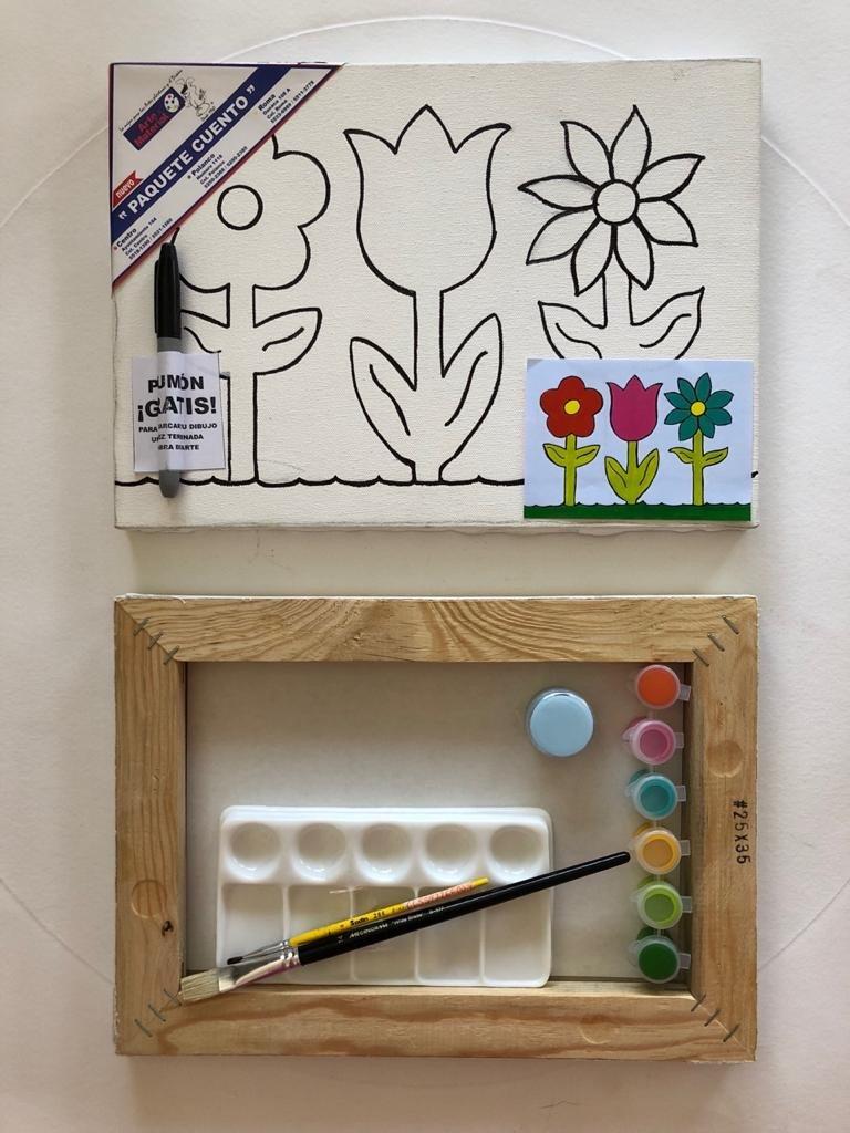Paquete Cuento Flor