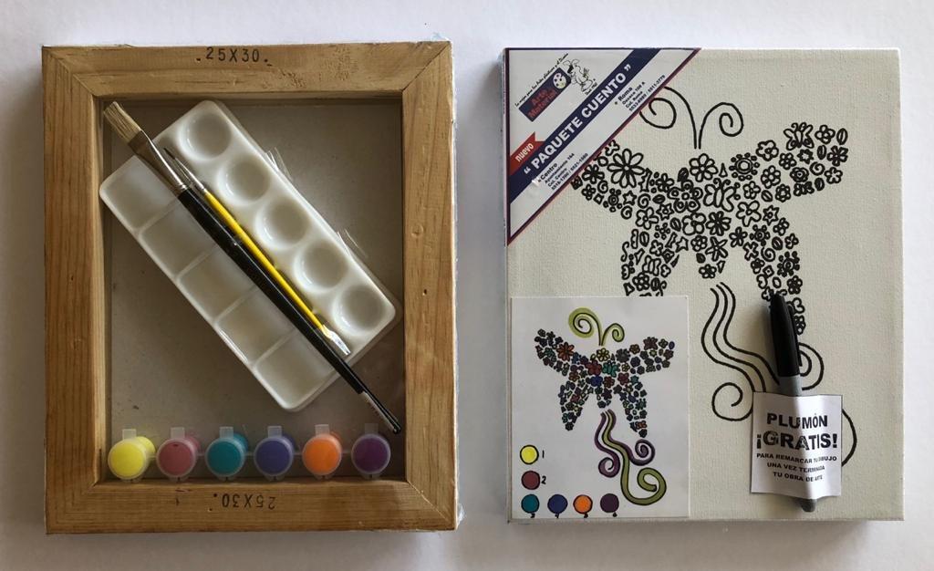 Paquete Cuento Mariposa