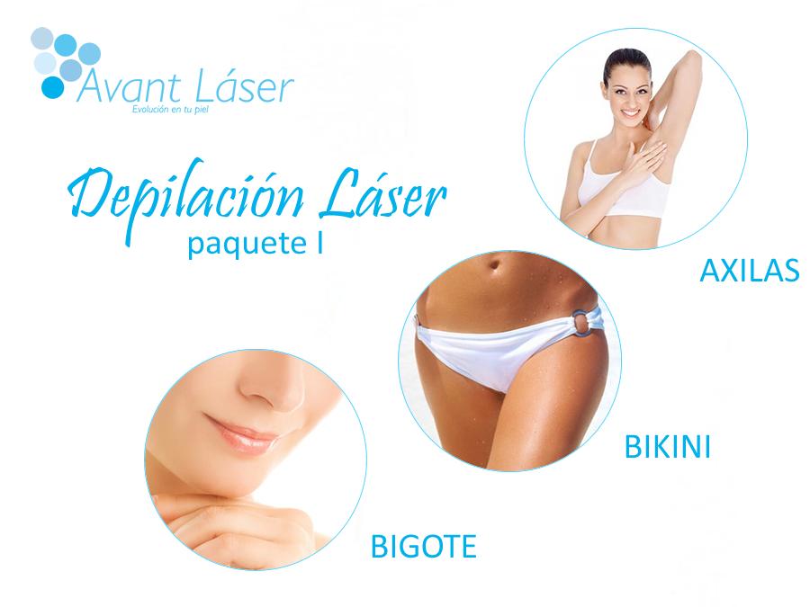 Depilación Láser :: Paquetes Mujeres :: I :: Axilas, Bikini y Bigote