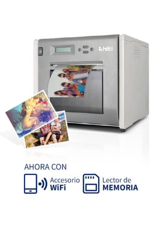 Impresora HiTi P525L + Dispositivo WiFi + Lector de memoria