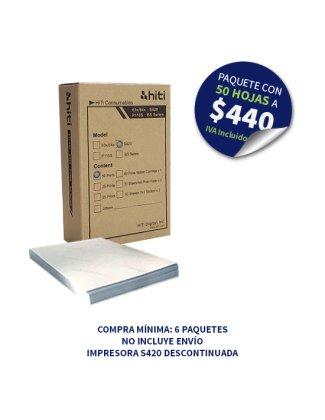 Consumible HiTi S420 (6 paquetes)