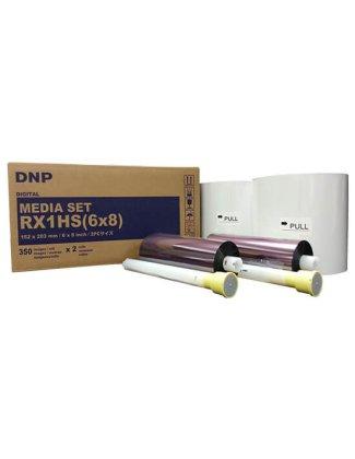 """Consumible DNP DS-RX1HS 6x8"""" (Caja con 2 bobinas para 700 fotos)"""
