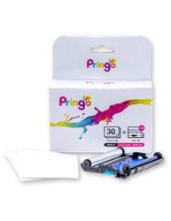 Impresora portátil PRINGO P231 ROSA (Paquete con consumible para 30 fotos)