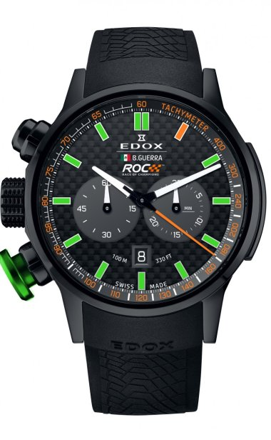 Reloj EDOX Benito Guerra Campeón ROC