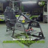 Simulador S1 Asiento Recaro EVO X