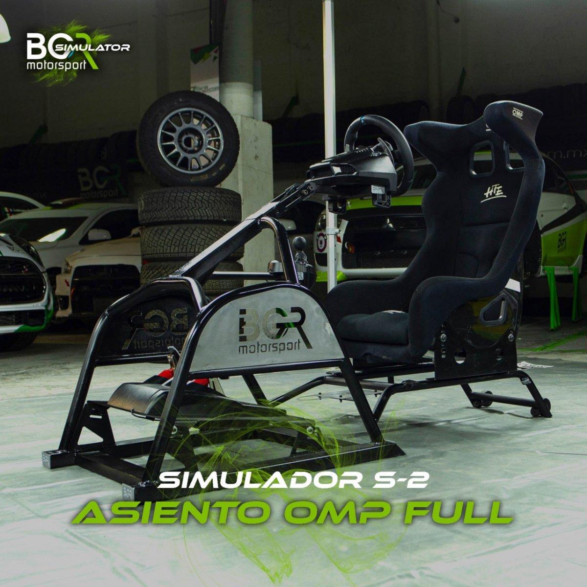 Simulador S2 Asiento OMP Full