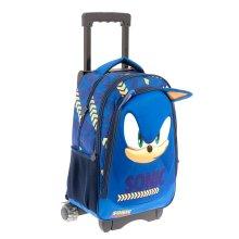 Mochila Primaria Carrito Sonic 9285C
