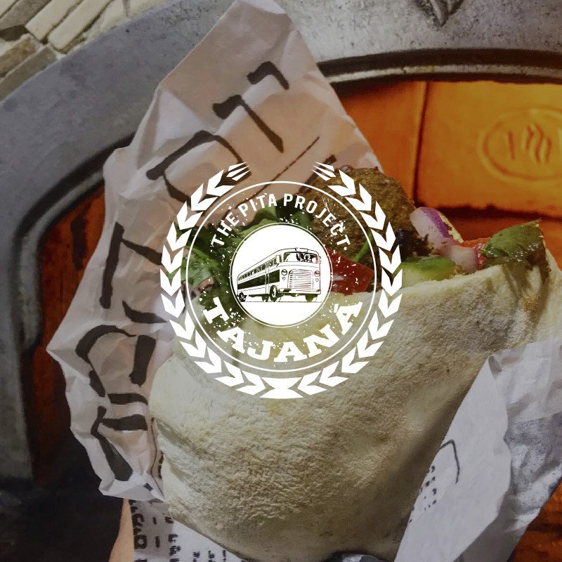 Tajaná: The Pita Project Street food de Israel, supervisión One Kosher Lomas del Chamizal, CDMX