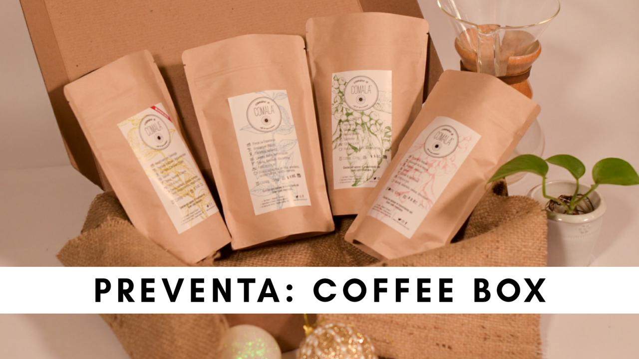 Coffee Box [PREVENTA] [recibe a partir del 18 de enero]