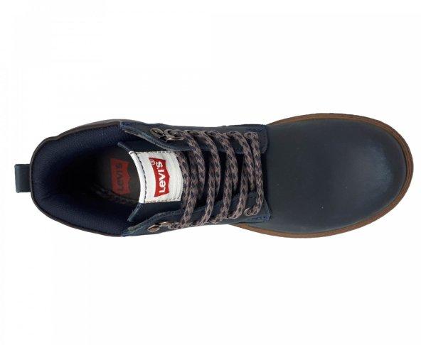 Botin azul para dama Levis 116321
