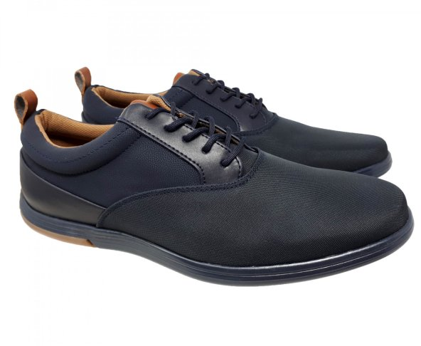Zapato tenis azul para hombre Christian Gallery 1257-3
