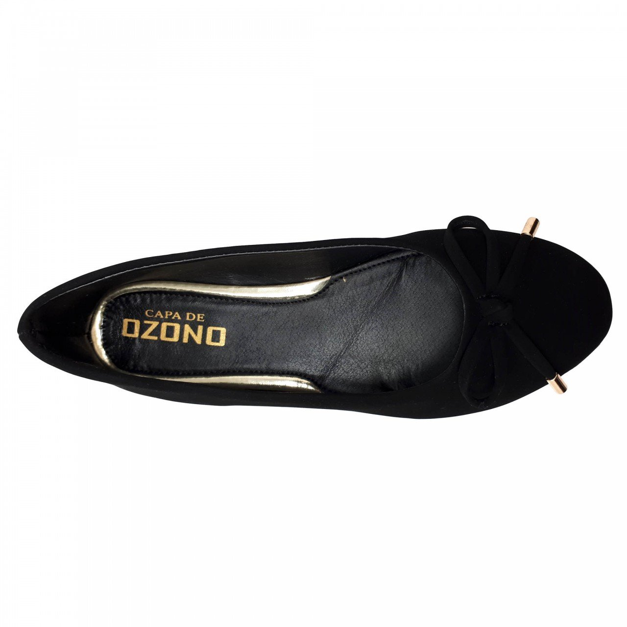 Balerina negra para mujer Capa de ozono 315633