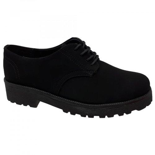 Zapato negro para mujer Capa de Ozono 328307