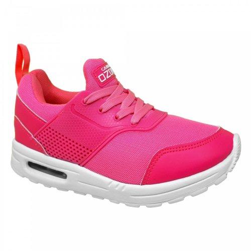 Tenis rosa neón para dama Capa de Ozono 334522