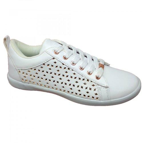 Tenis blanco para mujer Capa de Ozono 372919