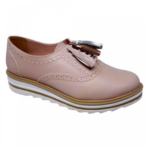 Zapato choclo rosa para mujer Capa de Ozono 374512