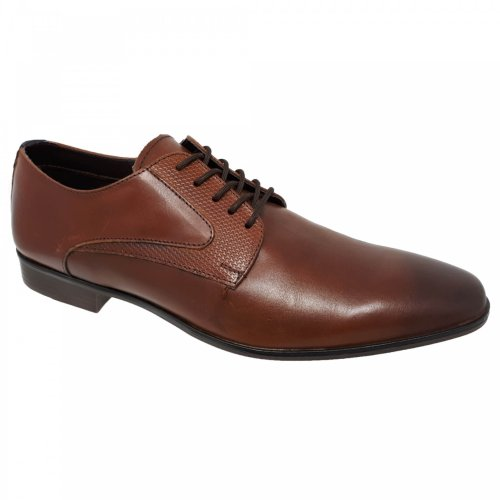 Zapato de vestir para hombre café Capa de Ozono 378405
