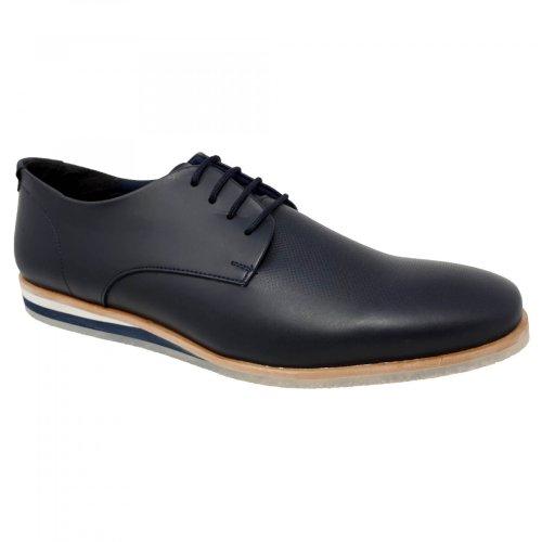 Zapato choclo azul para hombre Capa de Ozono 390301