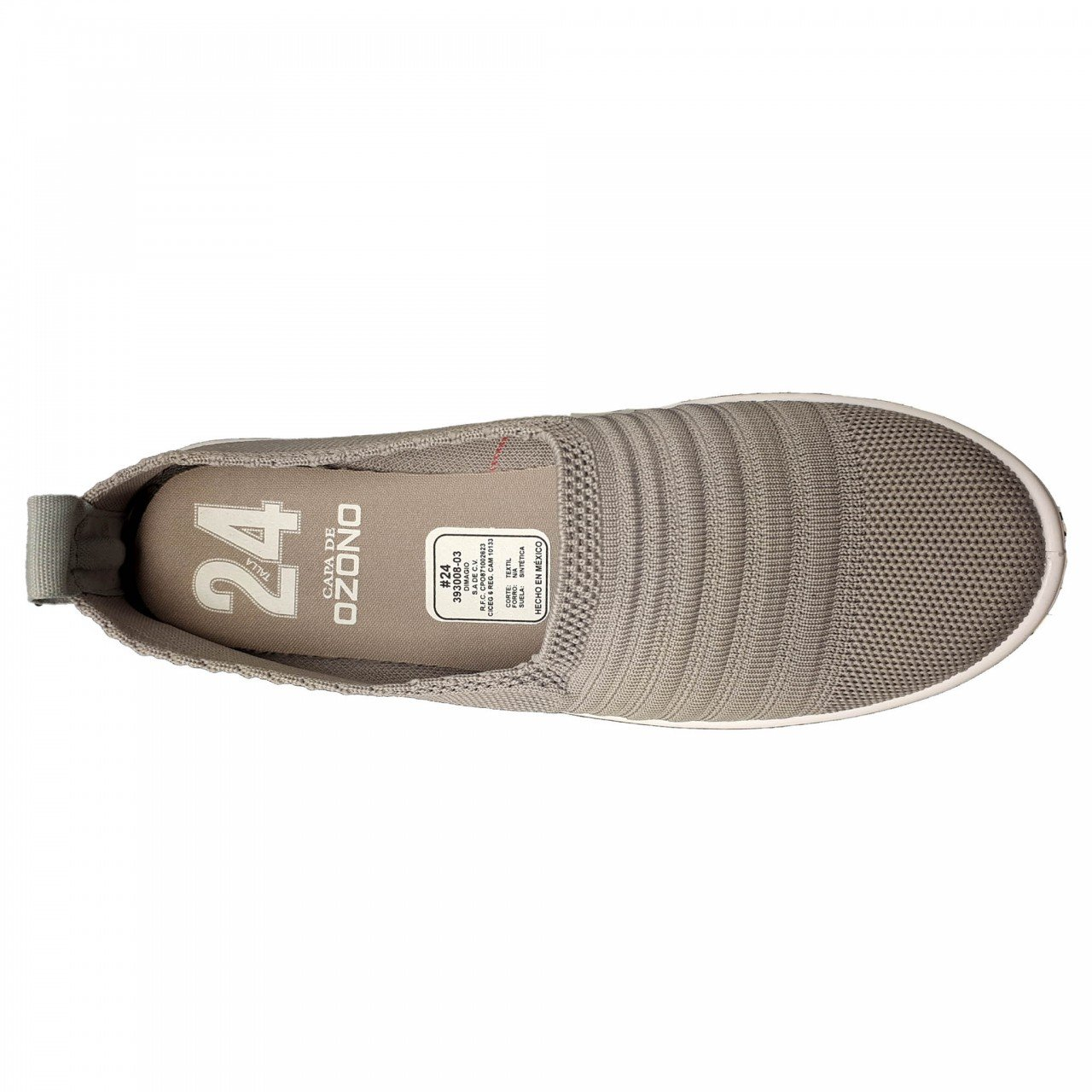 Tenis gris para mujer Capa de Ozono 393008