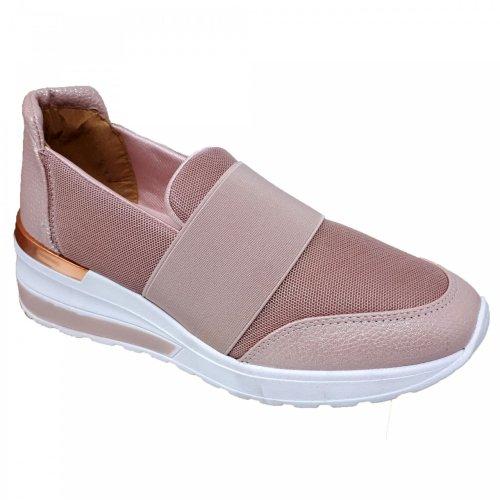 Tenis rosa para mujer Capa de Ozono 396304