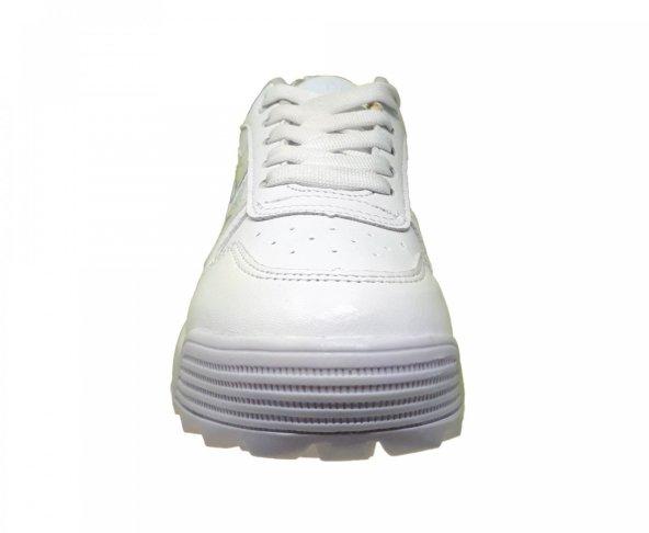 Tenis blanco chunky para mujer Capa de ozono 570101