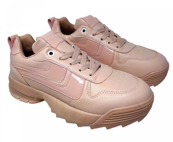 Tenis rosa chunky para mujer Capa de ozono 570101