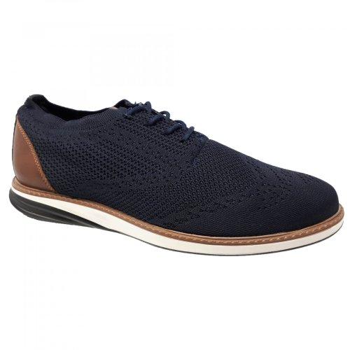 Zapato choclo azul para hombre Capa de Ozono 576101