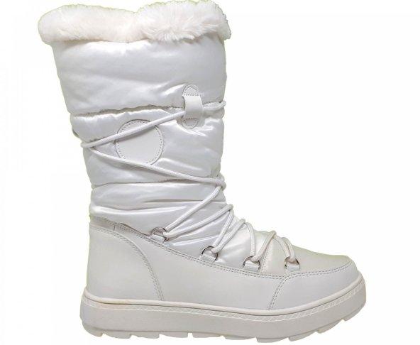 Bota blanca para mujer Capa de ozono 579803