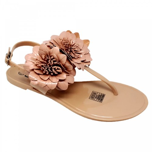 Sandalia rosa para mujer de piso Capa de Ozono 598804