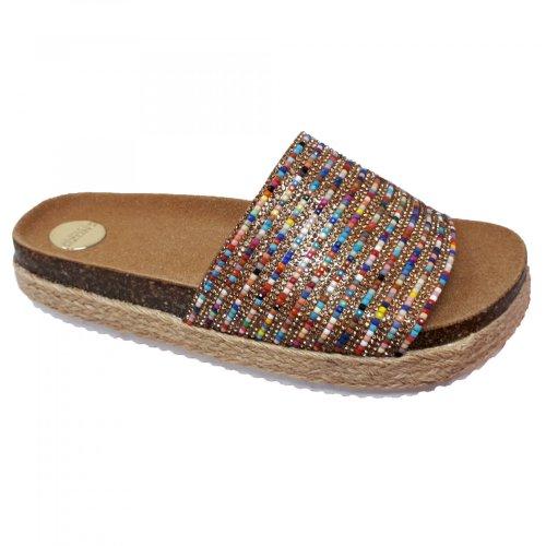 Sandalia para mujer de colores Capa de Ozono 60007402