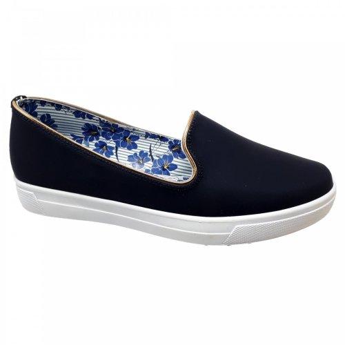 Zapato tenis azul marino para mujer Capa de Ozono 60015301