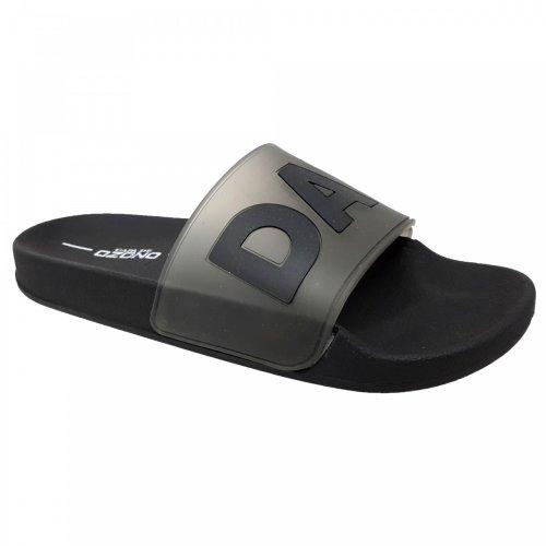 Sandalia negra para hombre Capa de Ozono 60016201
