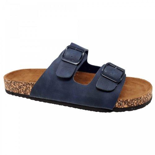 Sandalia azul para hombre Capa de Ozono 82128