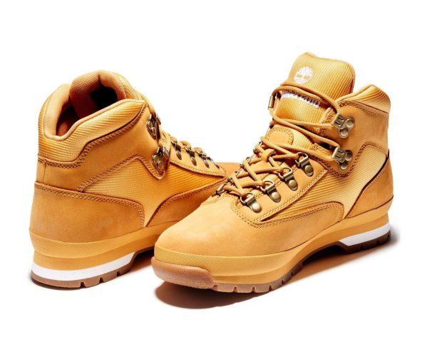 Botas Timberland Amarillas Miel Wheat Euro Hiker Leather 91566  para Hombre