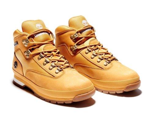 Botas Timberland Amarillas Miel Wheat Euro Hiker Leather 91566  para Hombre