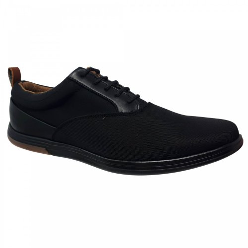Zapato tenis negro para hombre Christian Gallery 1257-3
