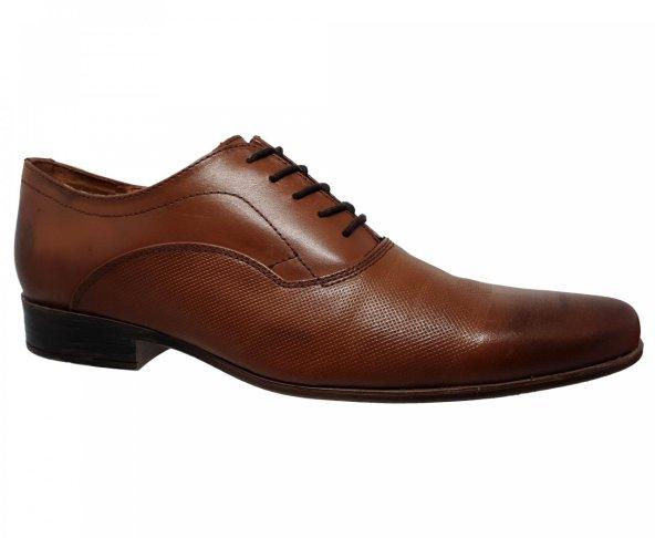 Zapato de vestir café para hombre Christian Gallery 138-D