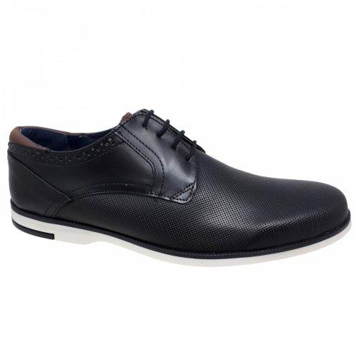 Zapato casual negro para hombre Christian Gallery 1501-1D