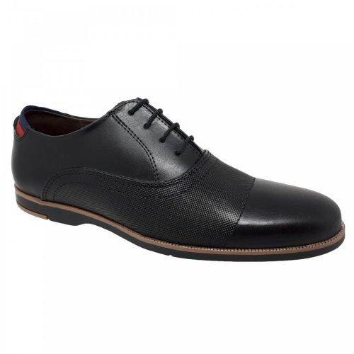 Zapato casual negro para hombre Christian Gallery 1504-1D