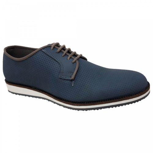 Zapato casual azul para hombre Christian Gallery 161