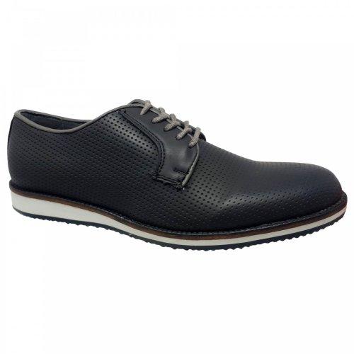 Zapato casual negro para hombre Christian Gallery 161