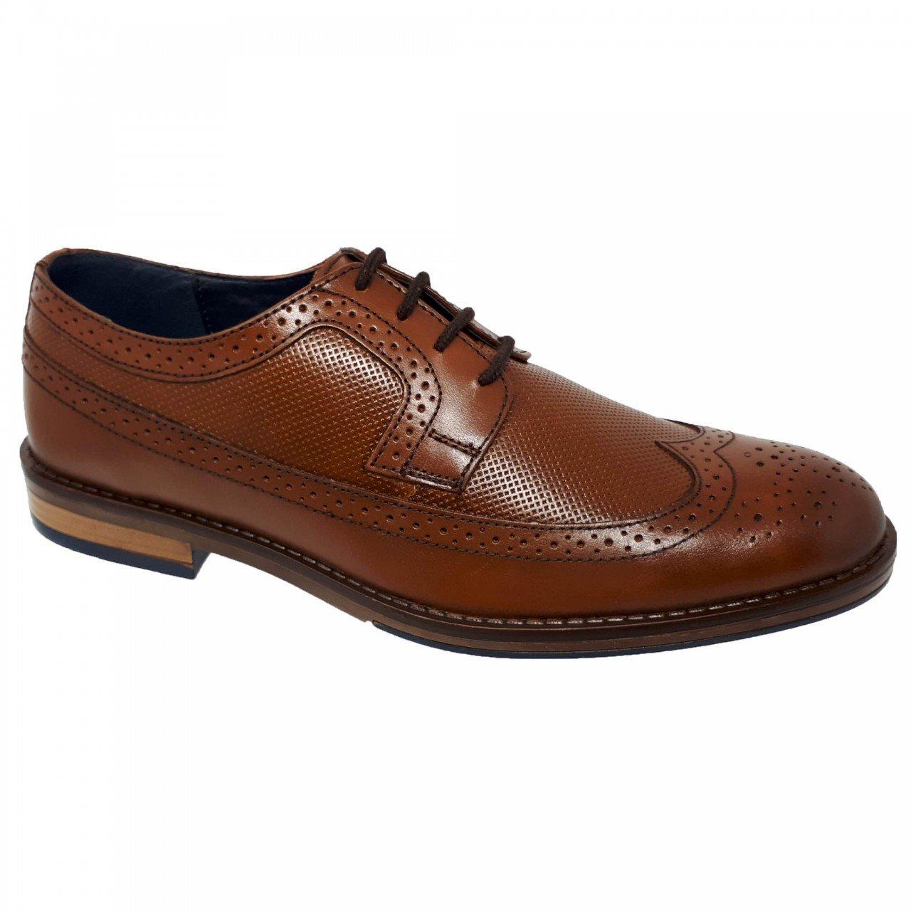 Zapato casual café para hombre Christian Gallery 1653-MPC